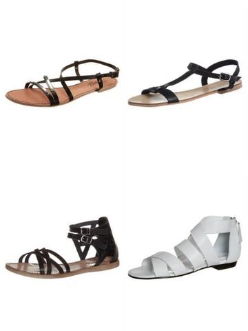 Flade sandaler 2013