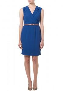 Blå kjole