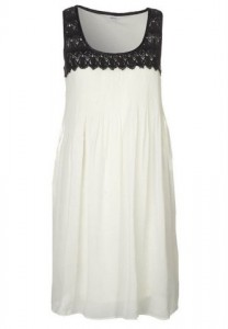 Hvid kjole