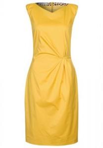 gul kjole