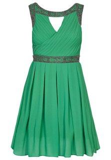 Grøn kjole