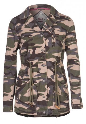Flot militær jakke til kvinder