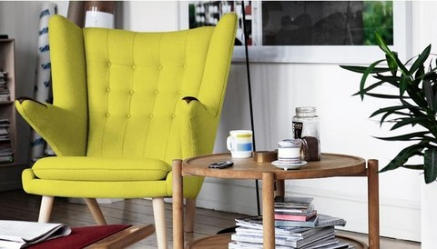 Bamsestolen designet af Hans J. Wegner