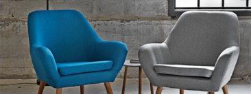 Nydelige og praktiske lænestole med komfort og æstetik