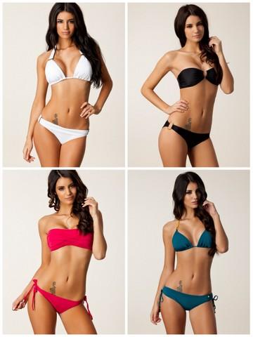 Sommerens bikinier