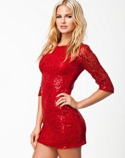 Palliet kjole