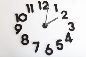 Vægur med løse tal