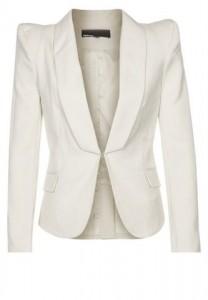 Hvid blazer