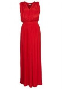 Rød kjole