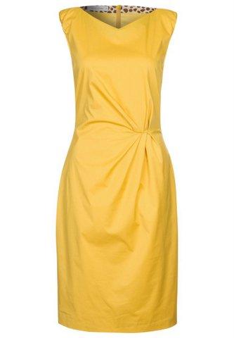 Smuk gul kjole