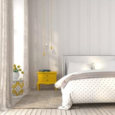 Få inspiration til at indrette dit soveværelse